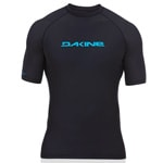 Dakine Mens Heavy Duty S/S (SNUG) Lycra Surfshirt - Black