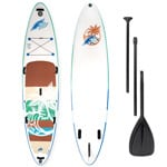 F2 Aloha Stand Up Paddle Board Set White/Turquoise
