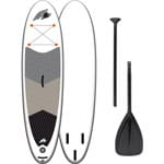 F2 Infaltable Comet Stand Up Paddle Board Gray