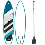 F2 Inflatable Fresh Stand Up Paddle Board Set Turqoise/White