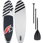 F2 Inflatable Allround Air Stand Up Paddle Board Set White/Black
