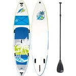 F2 Inflatable Aloha Stand Up Paddle Board Set Green