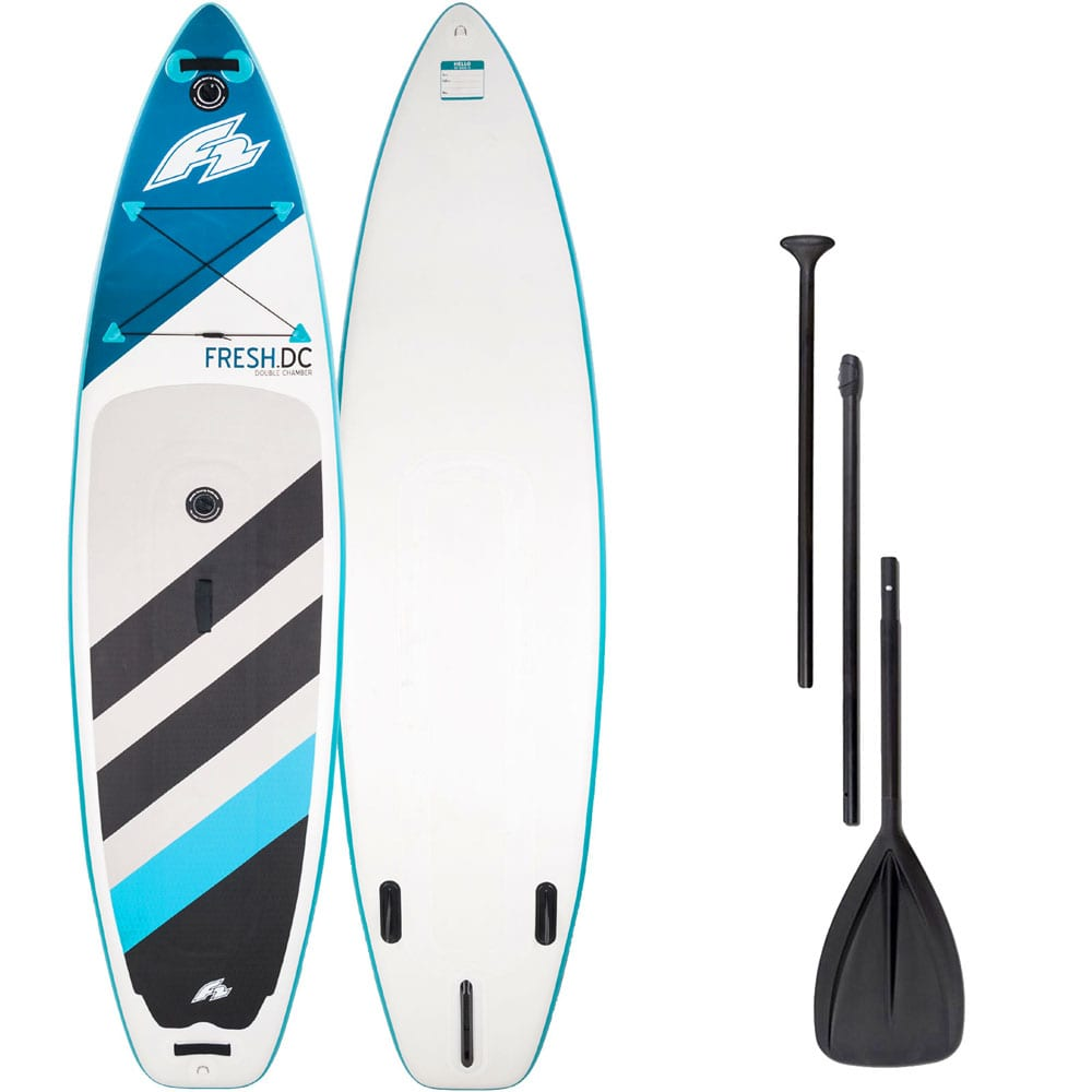F2 Inflatable Fresh Double Camber Stand Up Paddle Board SET