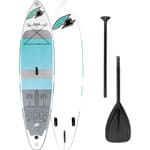 F2 Inflatable Rider SUP Board Turquoise