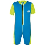 F2 Kids Shorty Neoprenanzug Blue/Green