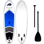 F2 Inflatable Team Stand Up Paddle Board White/Blue