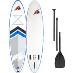 F2 Inflatable Team Stand Up Paddle Board SET White/Blue
