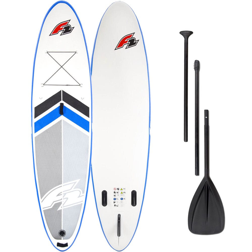 F2 Team Stand Up Paddle Board SET White/Blue
