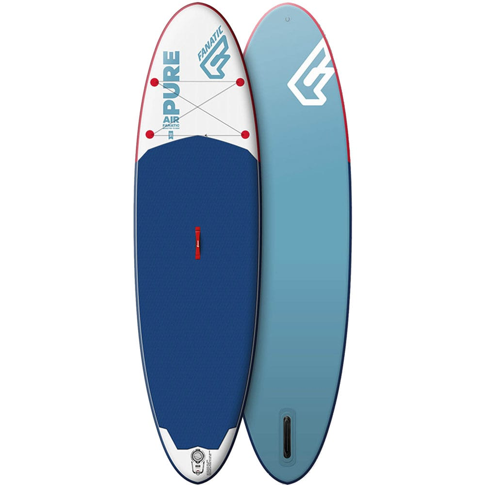 Fanatic Inflatable Pure Air Stand Up Paddle Board White/Blue