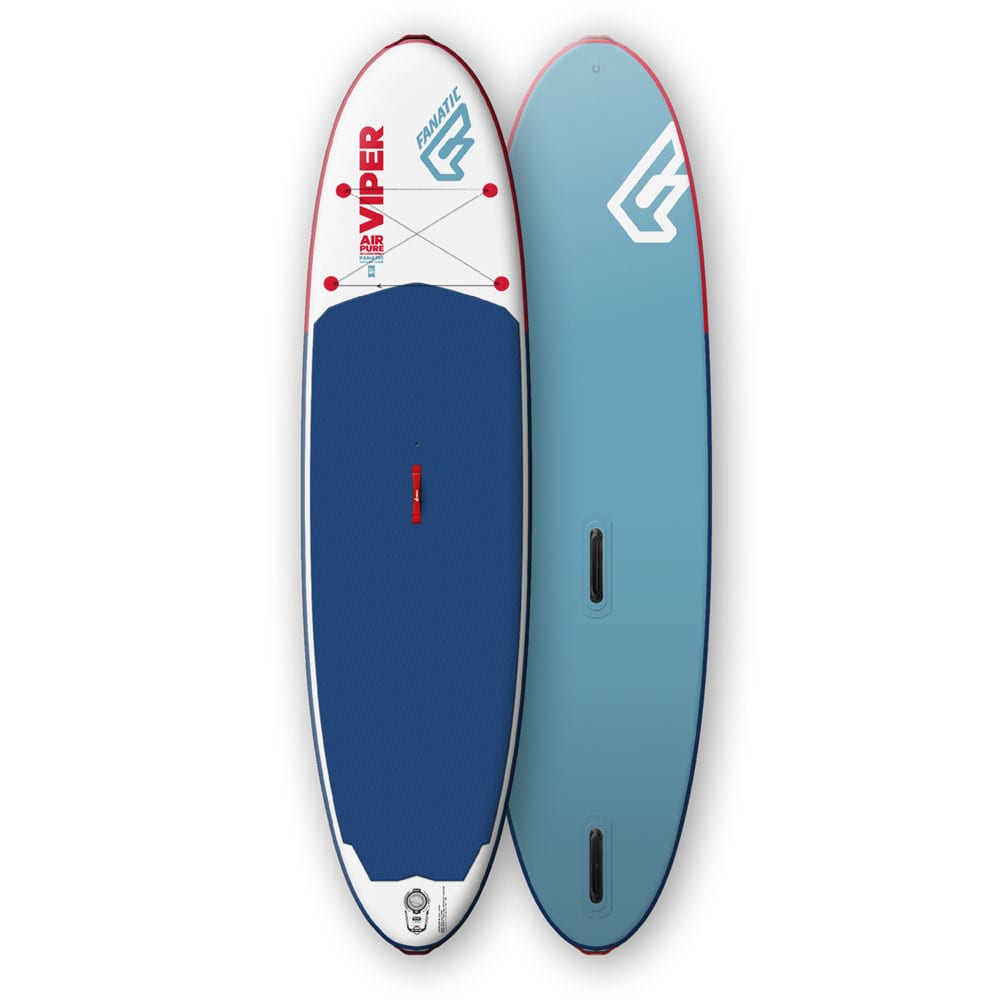 Fanatic Viper Air Windsurf Pure Stand Up Paddle Board Blue/White
