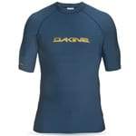 Dakine Heavy Duty Snug Fit SSL Herren Shortsleeve Lycra - Midnight