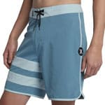 Hurley Phantom Block Party Solid Herren-Badeshorts Noise Aqua