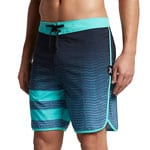 Hurley Phantom Block Party Speed Herren-Boardshorts Blue Moon