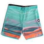 Hurley Phantom Julian Boardshorts - Beta Blue/Bright Mango