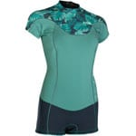 Ion Wetsuit Muse Shorty Short Sleeve Neoprenanzug Sea Green