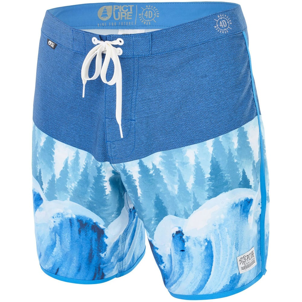 Picture Andy Shorts Herren-Badeshorts Wave Tree