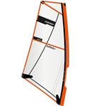 RRD SUP Rigg MK3 4.5 Windsurf-Segel Black/Neon Orange