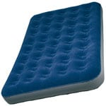 High Colorado Velours Luftbett Duo 107607 - Blau