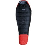 High Colorado Sherpa Schlafsack Black/Red