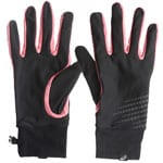 asics Basic Gloves Laufhandschuhe Camelion Rose