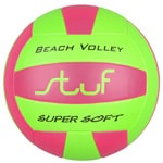Stuf Beach Soft Beachvolleyball Pink/Green