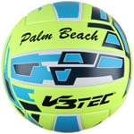 V3TEC Palm Beach Beachvolleyball Yellow/Blue/White