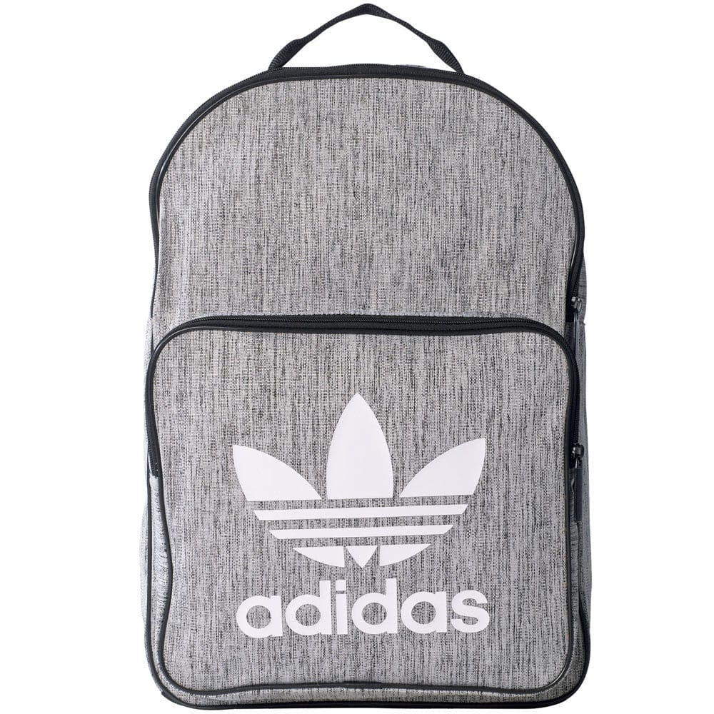 3e0f51ec636d8 adidas Originals Classic Backpack Casual Rucksack Black Grey