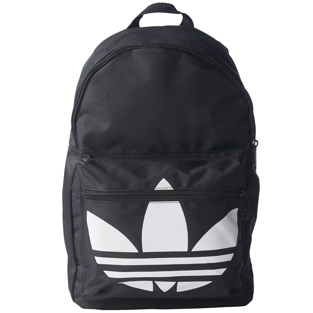 adidas originals backpack classic trefoil rucksack black. Black Bedroom Furniture Sets. Home Design Ideas