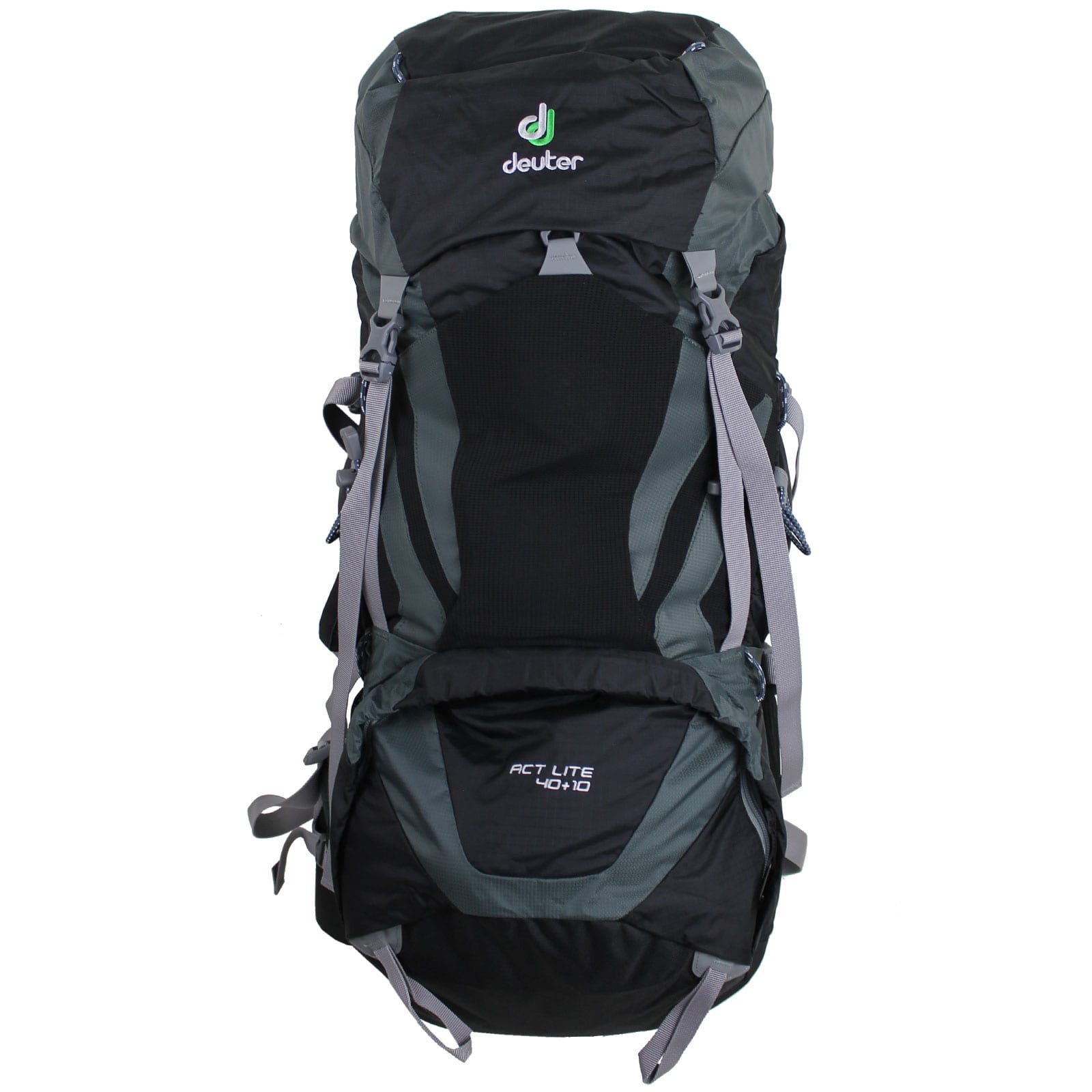 deuter act lite 40 10 trekking rucksack black granite fun sport vision. Black Bedroom Furniture Sets. Home Design Ideas