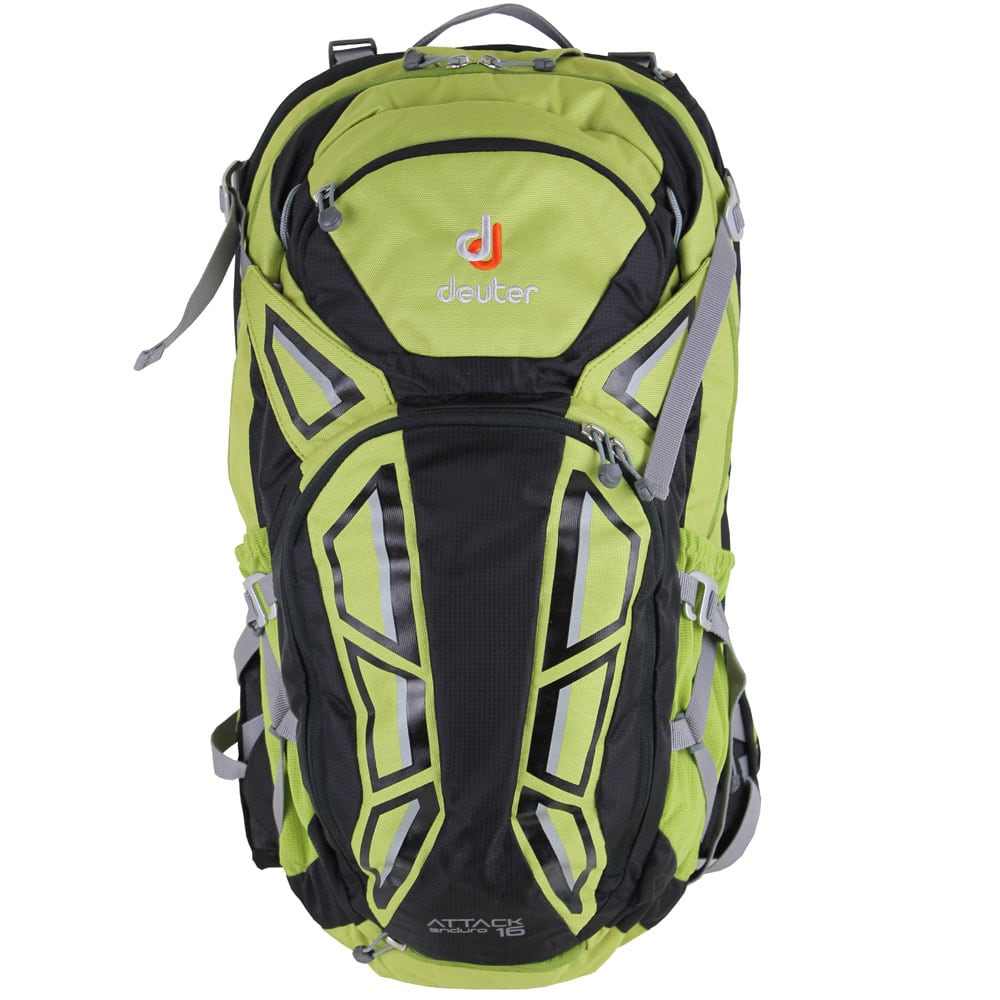 Image of Deuter Attack Enduro 16 Protektor-Rucksack Apple/Black
