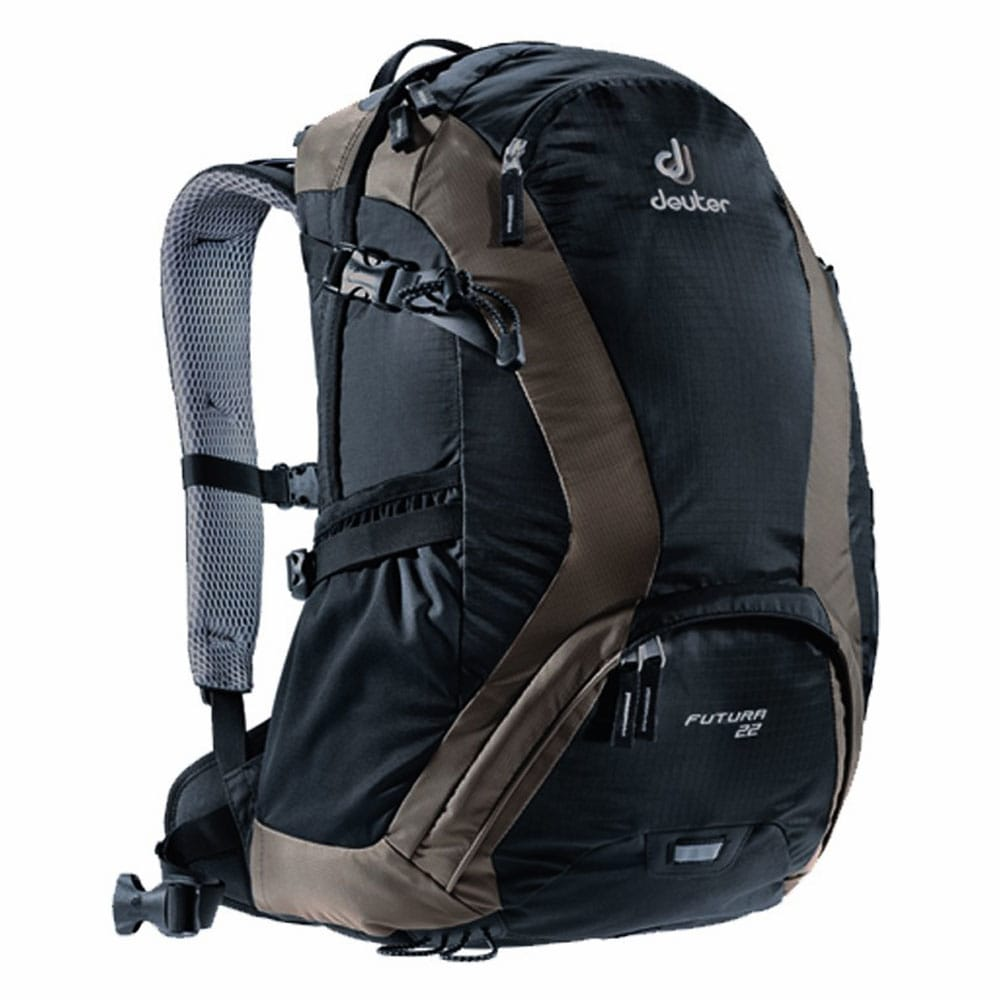 Deuter Futura 22 Liter Hiking Rucksack 34201 (Black Stone ...