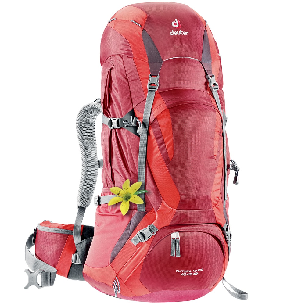 deuter futura vario 45 10 sl liter rucksack cranberry fire online kaufen. Black Bedroom Furniture Sets. Home Design Ideas