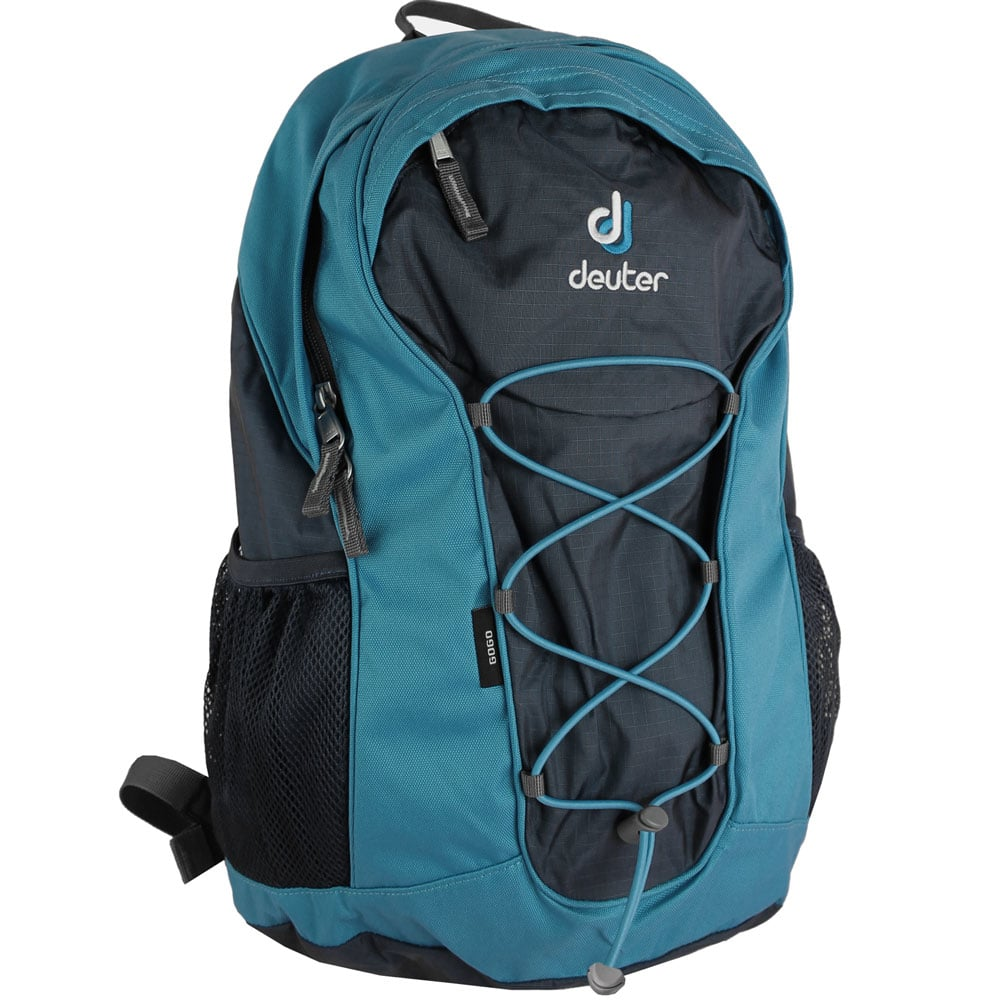 deuter gogo 25 liter rucksack dark blue blue fun sport. Black Bedroom Furniture Sets. Home Design Ideas