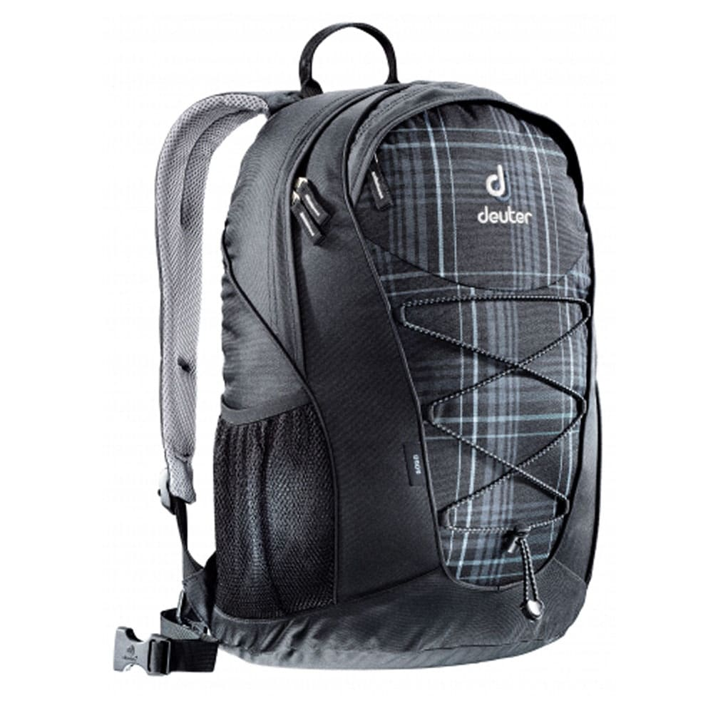 deuter gogo 25 liter rucksack 80146 black check fun. Black Bedroom Furniture Sets. Home Design Ideas