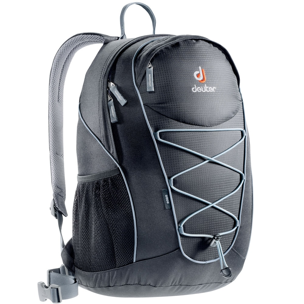 deuter gogo 25 liter rucksack black titan fun sport vision. Black Bedroom Furniture Sets. Home Design Ideas