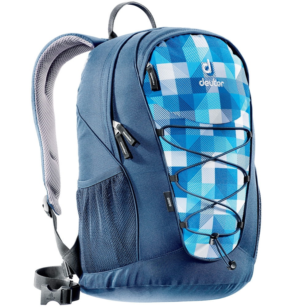 deuter gogo 25 liter rucksack 80146 blue arrowcheck. Black Bedroom Furniture Sets. Home Design Ideas