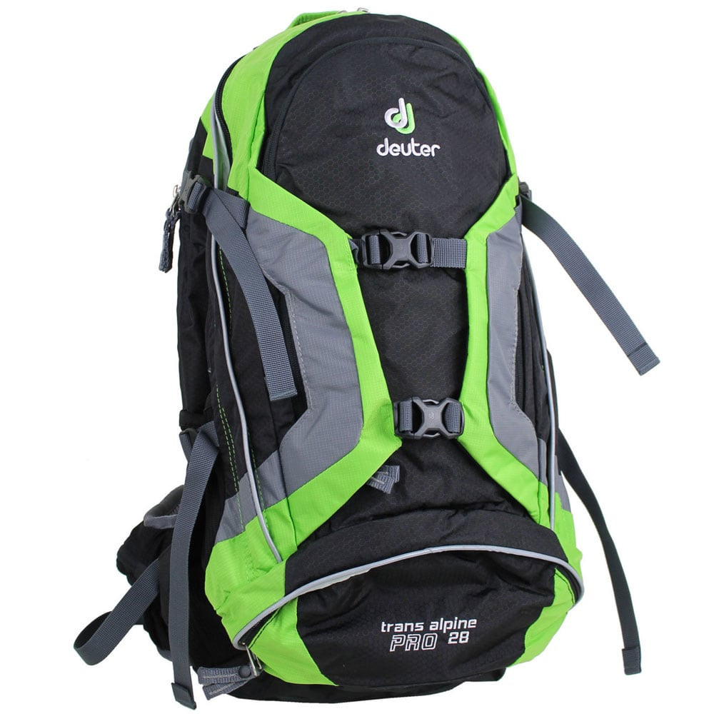 Image of Deuter Trans Alpine Pro 28 Bike Rucksack (Black Kiwi)