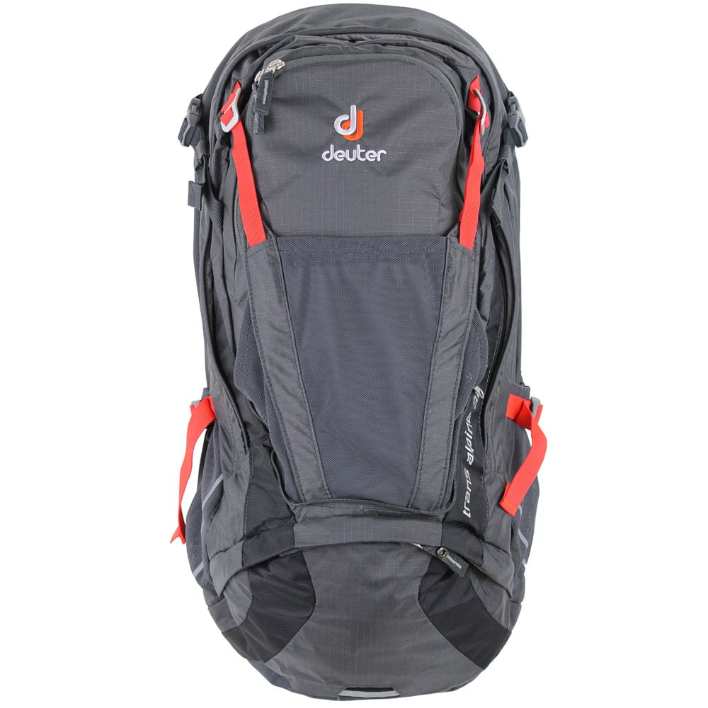 Image of Deuter Trans Alpine 32 EL Bike-Rucksack Graphite/Black