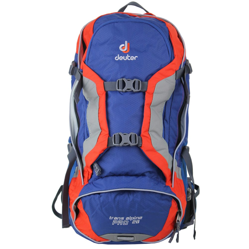 Image of Deuter Trans Alpine Pro 28 Bike-Rucksack Steel/Papaya