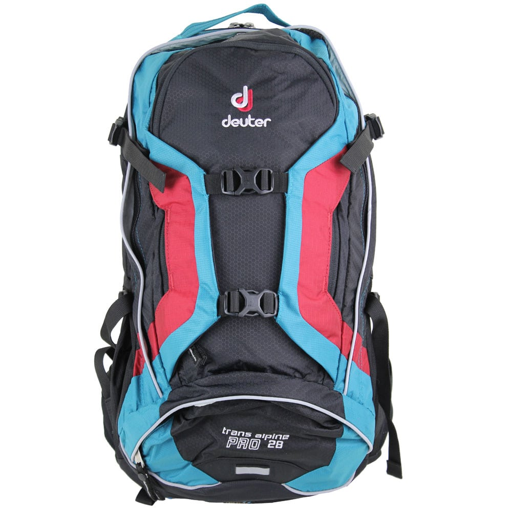 Image of Deuter Trans Alpine Pro 28 Bike-Rucksack Black/Petrol