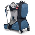 Osprey Poco AG Plus Kindertrage Seaside Blue