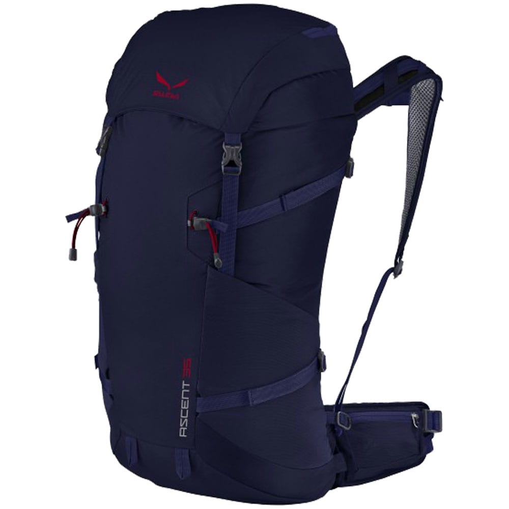 salewa ascent 35 liter rucksack navy fun sport vision. Black Bedroom Furniture Sets. Home Design Ideas