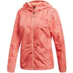 adidas Performance Wandertag Jacket Damen-Jacke Chalk Coral