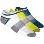 asiscs 3-Pack Lyte Sock Sportsocken Blue Steel Assorte