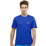 Salomon Explore Short Sleeve Nautical Blue