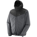 Salomon Primary Jacket M Herren-Jacke Forged Iron/Black