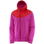 Salomon Primary Jacket W Damen-Jacke Rose Violet/Flame