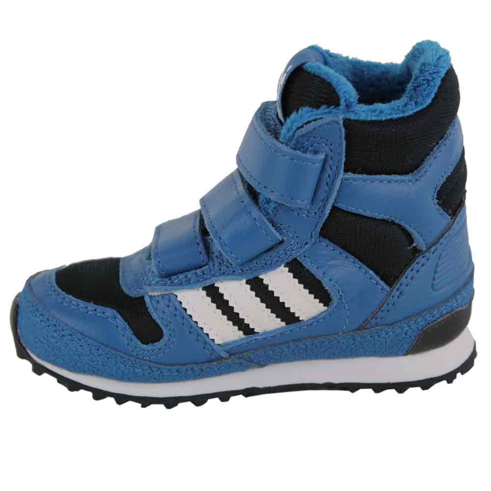 Adidas ZX Winter CF I Kinder Schuhe G95918 (blue)   Fun-Sport-Vision cd8c4f11f1