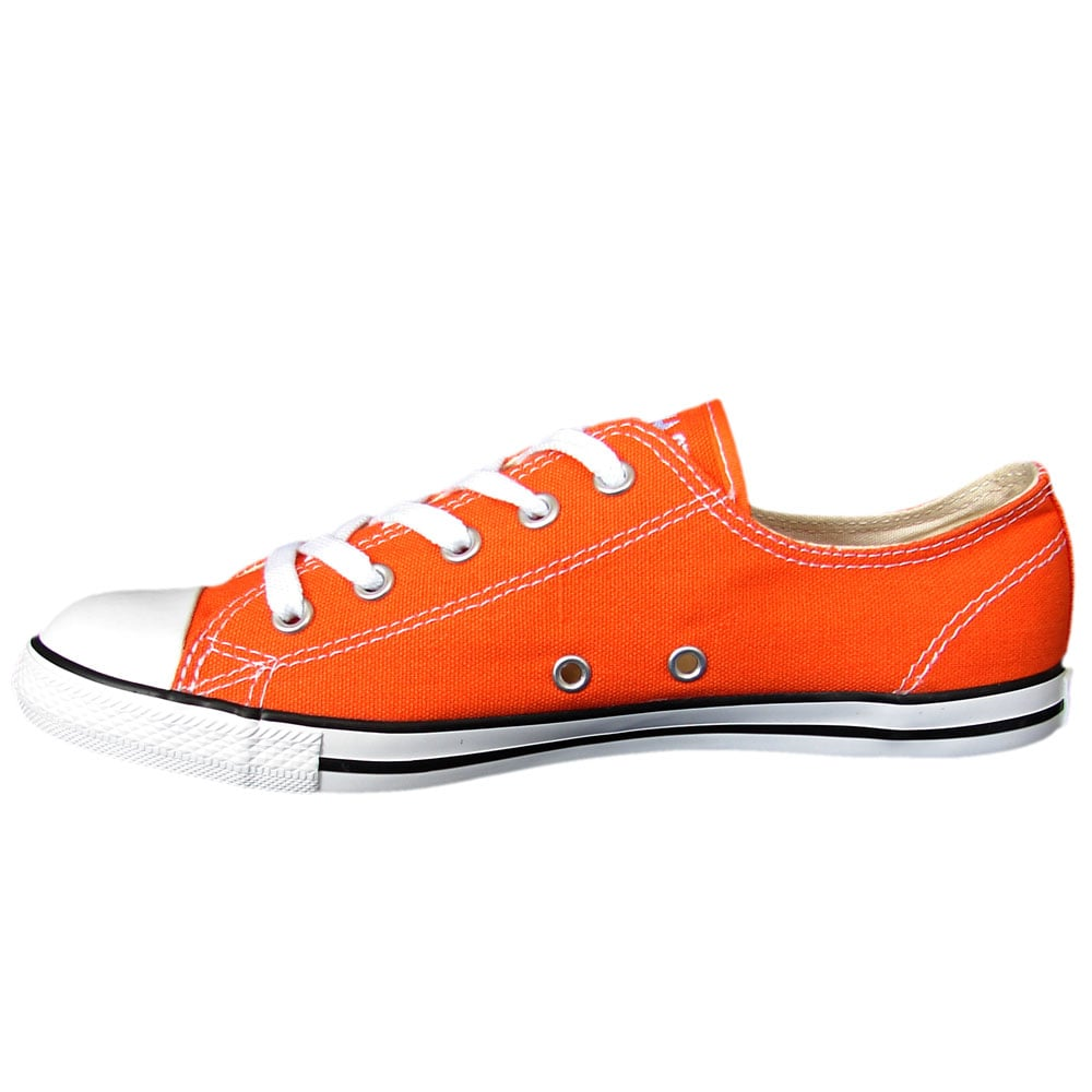 d4e0817b0b0125 Converse Chucks All Star Dainty OX 531954C (Orange)