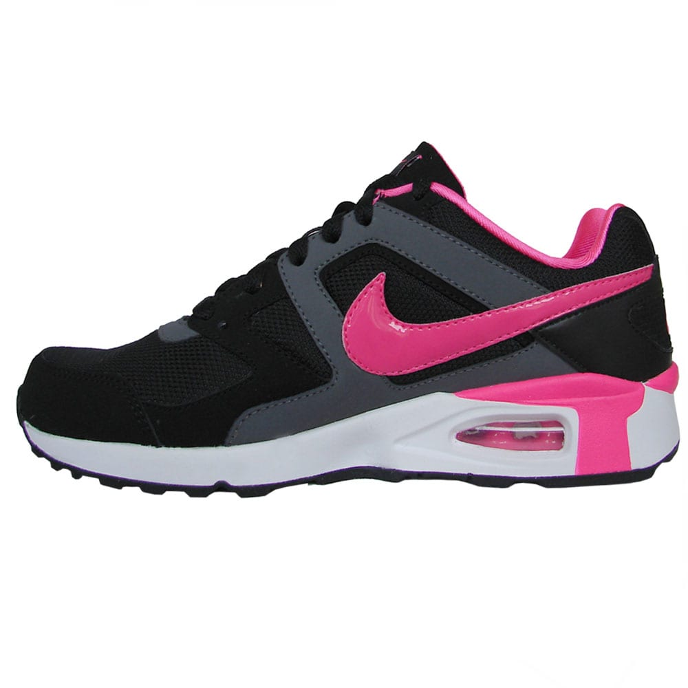 nike damen air max chase sneaker 472585 001 black pink. Black Bedroom Furniture Sets. Home Design Ideas